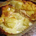 Gratin de pommes de terre au deux saumons