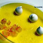 recette Crème mistralette, parfumée à l'orange