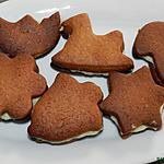 recette Couques en forme de figurines fourées au massepain