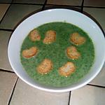 recette Petite soupe de fanes de radis