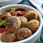 recette Boulettes lentilles corail-quinoa, bio {sans gluten, sans oeufs, sans lait}