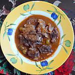 recette Mijoté de boeuf à la provencale