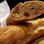 recette Baguette au chorizo