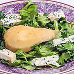 recette Salade de céleri et mâche à la poire et la fourme d'Ambert