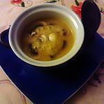 recette potage  butternut  champignons