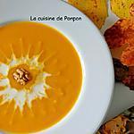 recette Velouté potiron carotte