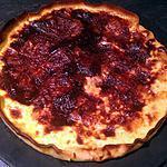 recette Tarte au fromage de Langres et saint- Félicien