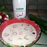 recette Soupe glacée aux concombres
