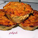 recette Muffins aux deux poissons-scampis et poireaux