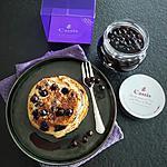 recette Pancakes au Cassis et à la Crème de Cassis de chez Peureux