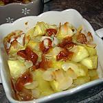 recette Pommes fondantes aux carambars