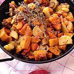 recette Poêlée aux couleurs d'automne