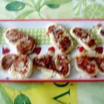 recette palmiers a la saucisse de michéle croquant  fondant gourmand