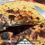 recette Tortillas aux fromages et jambon