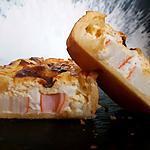 recette Moelleuse au surimi et à la fêta