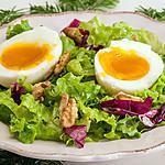 recette Salade d'oeufs automnale toute simple