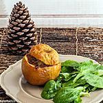 recette Pommes farcies au cochon fermier