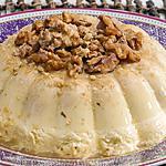 recette Bavarois aux  noix