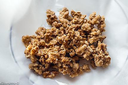 Photo de recette de noix de  Kilomètre-0, blog de cuisine réalisée à partir de produits locaux et issus de circuits courts