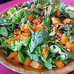 recette Salade au potiron