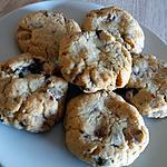 recette Cookies 3 chocolats/sirop chocolat cookie