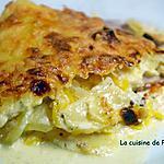 recette Gratin de pommes de terre, potiron, bacon et lardons