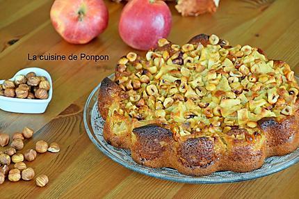 gâteau pomme noisette (7)