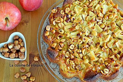 gâteau pomme noisette (8)