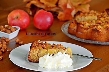 gâteau pomme noisette (12)