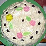 recette Gâteau meringué aux amandes et Amaretto