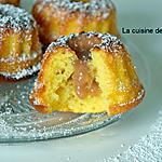 recette Bundt cake au mascarpone et parfumé au citron