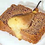 recette Gâteau du matin choco poires