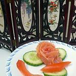 recette rose de saumon