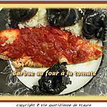 recette Barbue au four à la tomate