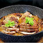 recette Roti de Porc Sauce Vin Blanc Cèpes
