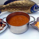 recette soupe de poissons et sa rouille