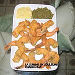 recette Crevettes panées