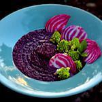 recette Soupe violette au chou rouge