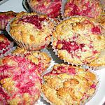recette Muffins aux framboises ou fruits rouges