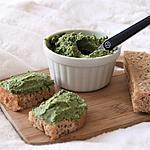 recette Rillettes aux épinards, bio {sans gluten, sans oeufs, sans lait}