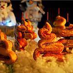 recette Feuilletés au saumon, sapins de Noël