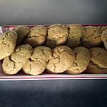 recette Cookies thé vert matcha et zeste de citron