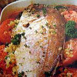 recette daurade aux tomates parfumée au vin blanc