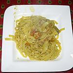 recette Ragoût de veau à la catalane et aux petites pâtes