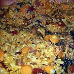 recette Kitcheree aux lentilles corail et petits légumes