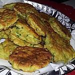 recette Beignets de courgettes au curry