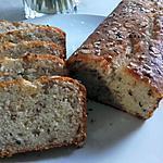 recette Cake moelleux banane et céréales (sans oeufs nibeurre)