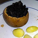 recette Pomme farcie au boudin noir
