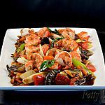 recette Crevettes Sautées au Curry Noir