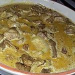 recette Sauté de porc au curry garam masala
